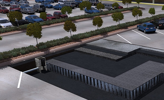 StormTank stormwater Module retention and detention
