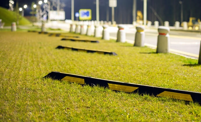 GroundPro GRS under grass light duty