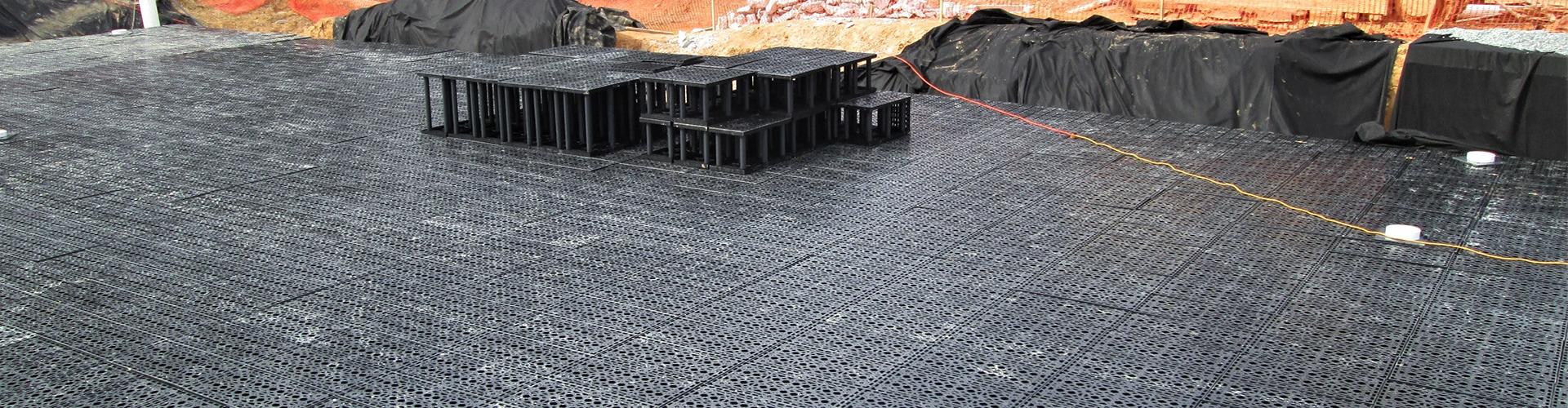 StormTank Module during construction